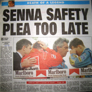 Senna-death-newspaper-article