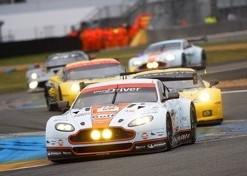 Allan Simonsen died in this Aston Martin, Le Mans, 2013