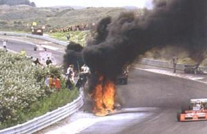Roger Williamson crash, fire and death. Dutch Grand Prix, 1973.