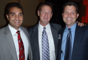 Dr Jose Lopez, Dr Jim Norman, and Dr Doug Politz of the Norman Parathyroid Center, Tampa, FL