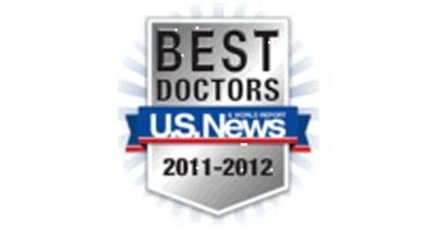 Top Doctors, US News and World Reports, 7 years in a row.