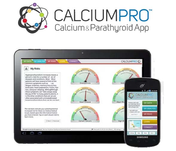 Get the Calcium Pro app for iTunes or Android